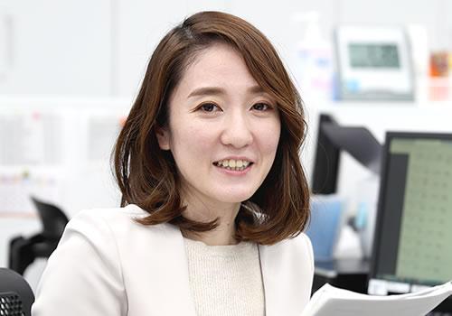 係長 坂口 恵香